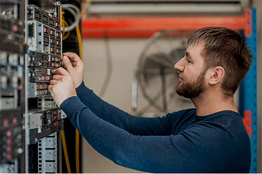 networking compressor technician