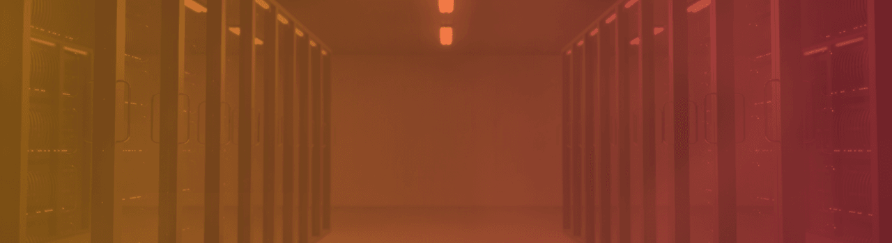 server room header orange red gradient