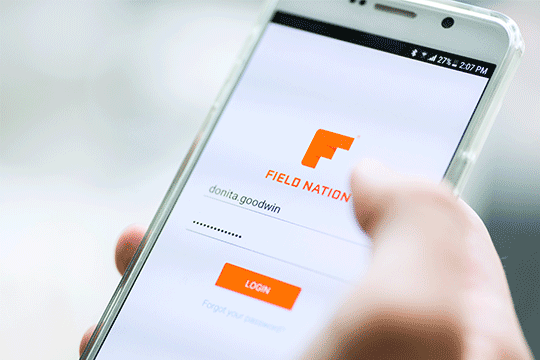 field nation provider technician app android