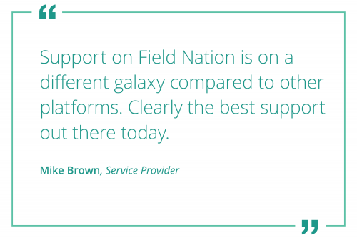 field nation support review