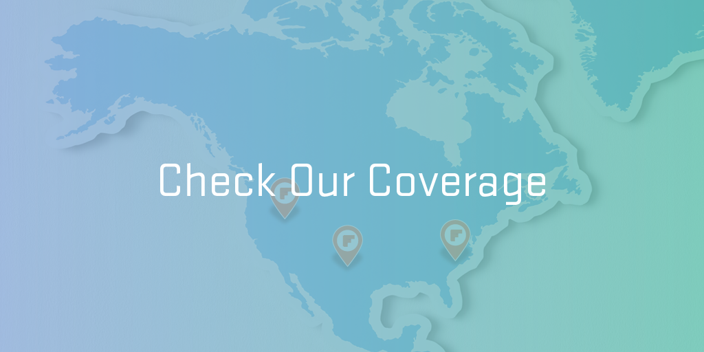 coverage map card