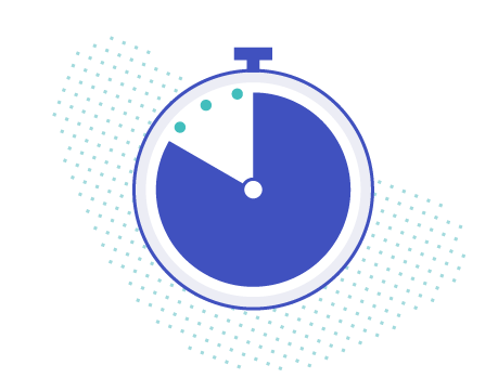 time stopwatch transparent illustration blue