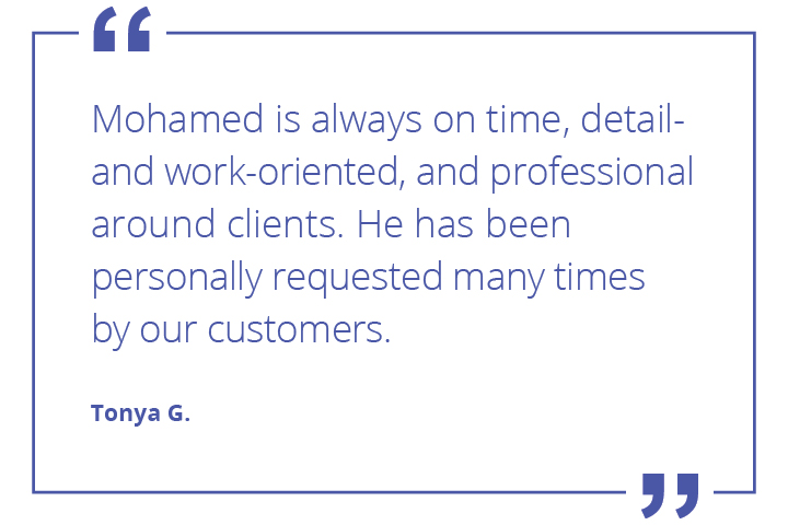 Mohamed quote from dispatcher